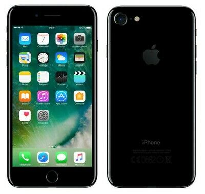 Apple iPhone 7, 128GB, Jet Black, Fully Unlocked