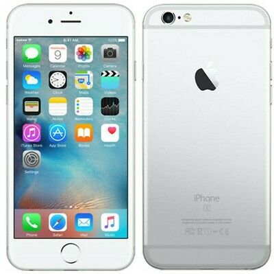 Apple iPhone 6s 64GB Silver Unlocked Great Condition