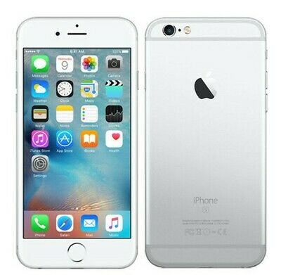 Apple Iphone 6s Plus 128gb Silver Lte Cdma Gsm Unlocked
