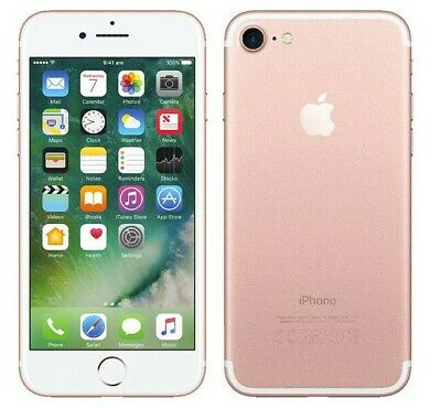 Apple iPhone 7 - 32GB - Rose Gold- Fully Unlocked - Great
