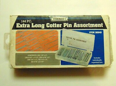 Storehouse No. 30949  144-pc Extra Long Cotter Pin Assortment