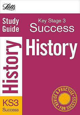 History: Study Guide (Letts Key Stage 3 Success), Christopher Lane, Very Good Bo