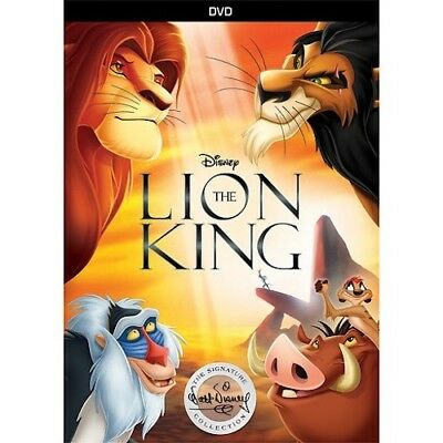 The Lion King DVD New & Factory Sealed comes with Slipcover Free Shipping!