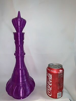 I dream of Jeannie Inspired 13 INCH! PURPLE Bottle / Barbara Eden / Bill Daily