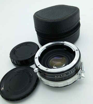 For NIKON NT AUTO TELEPLUS teleconverter 2x w/caps & case in EXCELLENT CONDITION