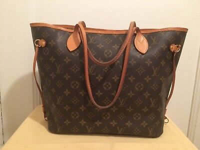 ed9ff195407d Louis Vuitton Neverfull MM Monogram Bag Model M40995 in Good Pre-owned  Condition