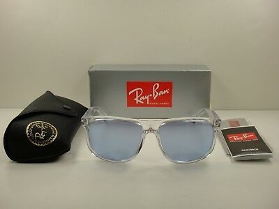 bee89d6d83 Ray-Ban Sunglasses Rb4147 63251U Transparent Frame violet Mirror Lens 60Mm
