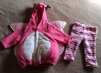 Old Navy Pink Butterfly Infant Halloween Costume 0 - 6 Months