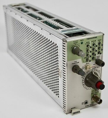 Tektronix 7B50A TIME BASE Plugin Module