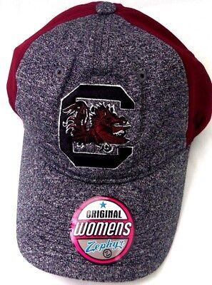 5a892299dec ... norway south carolina gamecocks womens zephyr ncaa adjustable slide  strap hat cap 68ede f748a