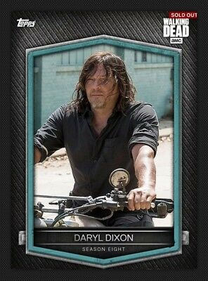 Walking Dead Season 8 Characters Chase Card C-9 Daryl Dixon