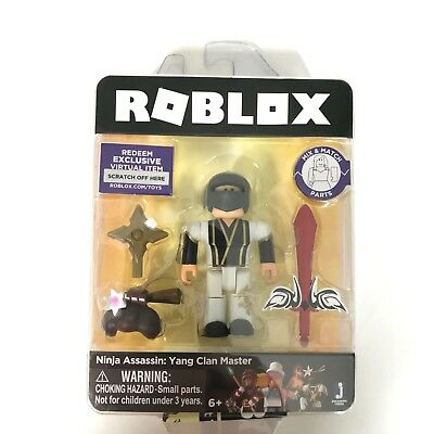 Roblox Ninja Assassin Yin Clan Master Single Figure Core Pack With Exclusive Virtual Item Code Newegg Com Roblox Ninja Assassin Yang Clan Master Mini Figure Virtual Item Code New 14 94 Picclick