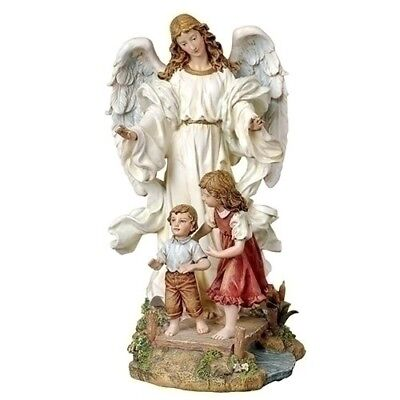 """Guardian Angel Traditional 10""""H Figure by Roman Inc"""