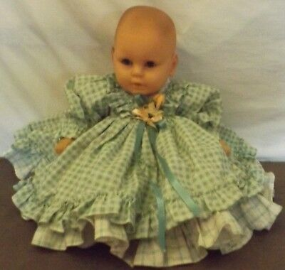0a22278096e4f Baby Doll Girl Made In Spain Vinyl With Cloth Body 21
