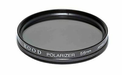 58mm High Quality Kood Linear Polarizing Filter Made in Japan Polarizer 58mm