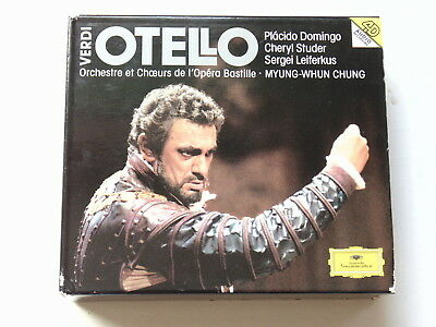 Cd Guiseppe Verdi - Otello - Myung-Whun Chung (Inc 236 Page Booklet) Domingo, St