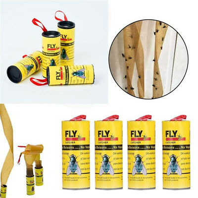 New Mouse Rat Ribbon Strip Glue Paper Catcher  Fly Killer Sticky Insect Trap