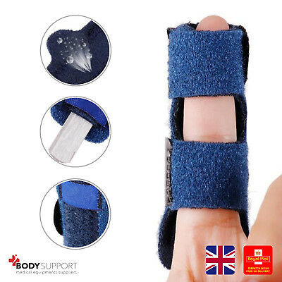 Finger Splint Mallet Trigger Support Brace Joint Protection Straightener Strap