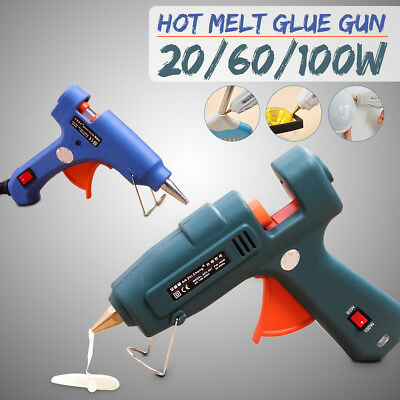 20/60/100W 7/11MM Electric Heating Hot Melt Glue Gun Adjustable Temperature Tool