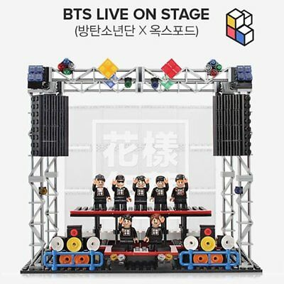 BTS LIVE ON STAGE Official Good Oxford Lego with 404p Block+Manual+Sticker KPOP