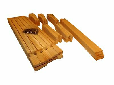 10 x SN4 Hoffman Self Spacing Super Frames for British National Hives with nails
