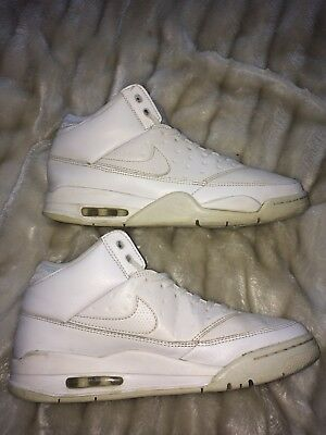 sports shoes d416f 16ac4 Nike Air Jordan Flight Leather High Top Uk 9 Vgc