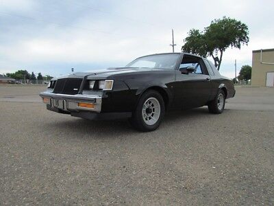 Buick: Regal T-Type Turbo T 1987 Buick Turbo T (T-Type) LC2, W02, Y56, GM Canada Documented