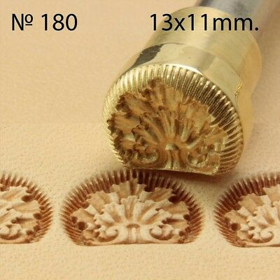 Leather stamp tool crafting crafts brass saddle making stamps #180
