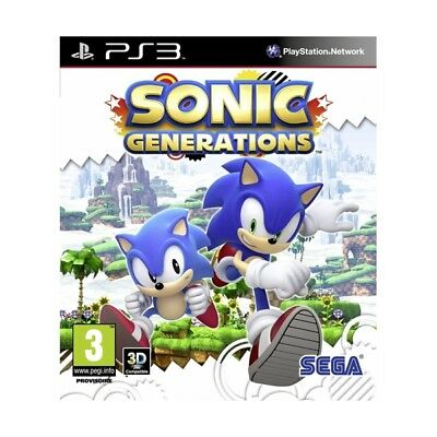 Sonic Generations PS3 (SP)