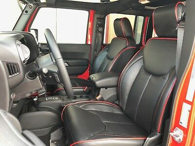 Peachy 2013 2018 Jeep Wrangler Jk 4Dr Seat Covers Syn Leather Short Links Chair Design For Home Short Linksinfo