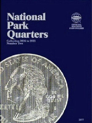 National Park Quarter # 2 2016-2021 P & D Coin Folder by Whitman