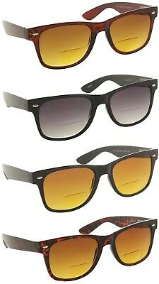 e34b6b3d6fb Bifocal Trendy Sunglasses Sun Readers with Spring Hinges for Men and Women