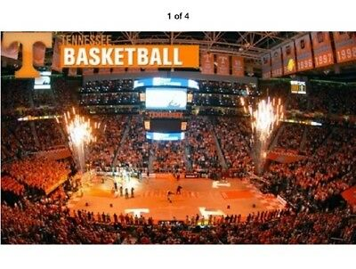 #1 Tennessee VOLS Basketball 4 tickets v. Mississippi State 5 March 2019