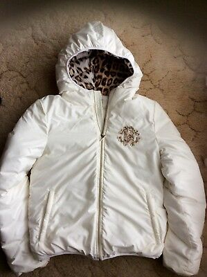 Girls  Roberto Cavalli jacket sz 10-11 Immaculate new condition worn once