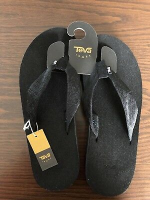 77f95af40e200 TEVA MENS SANDALS Voya Flip Brick Black Size 11 -  35.00