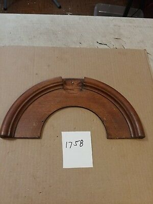 Antique Wooden Gilbert / Ansonia Era Gingerbread / Parlor Clock Top Crown Trim