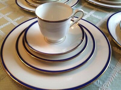 Lenox Urban Twilight China 5-piece place settings Lot of 4 Excellent Condition