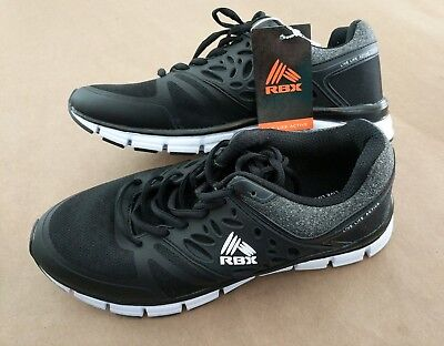 ae21ad87866 NEW Reebok Men s RBX LIVE LIFE ACTIVE Training Running BLACK Shoes Sz 8.5  EF3601