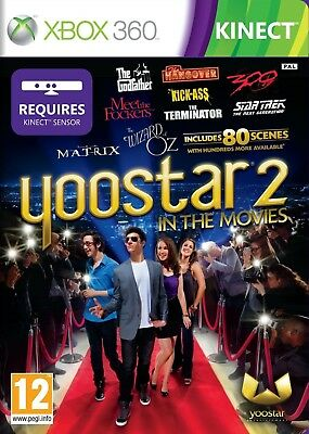 Yoostar 2 In the Movies for Xbox 360 – UK Preowned – FAST DISPATCH