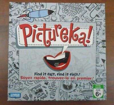 Pictureka! Find it Fast, Find it First! Parker Brothers 2007 Complete