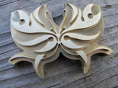 Brass BUTTERFLY Leather Craft Bookbinding Press Tool embossing die Letterpress