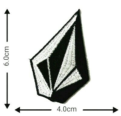 Volcom Small Patches Logo Embroidery Iron on ,Sewing on Clothes