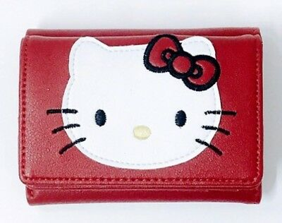 Hello Kitty Ninamew Mini Wallet Coin Card Case Purse Red Sanrio from Japan  N1080 be44c340a2333