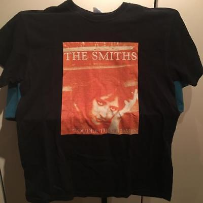 THE SMITHS LOUDER THAN BOMBS ORIG EARLY 1990s VINTAGE T-SHIRT~MED~BLACK~EXC COND