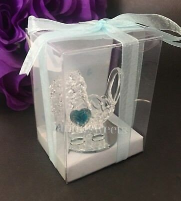 24-Baby Shower Favors Box Carriage Gender Blue Its A Baby Boy Recuerdos Cariola
