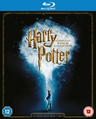 Harry Potter Collection Complète (8 Film) Coffret Blu-Ray Neuf (1000596921