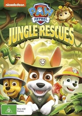Paw Patrol - Jungle Rescues (DVD, 2017, Region 4) Nickelodeon BRAND NEW