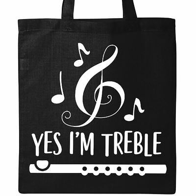 b1991ce48 Inktastic Funny Flute Music Quote Tote Bag Flutist Instrument Musician  Musical