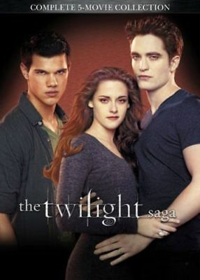 The Twilight Saga: Complete 5-Movie Collection (DVD, 2016, 2-Disc Set)