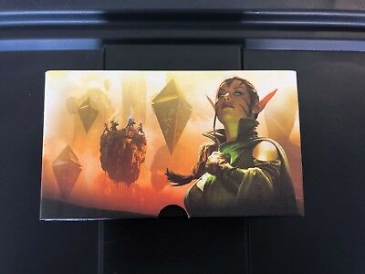 1 Empty Fat Pack Box Magic the Gathering MTG FTG SCARS OF MIRRODIN NM//SP
